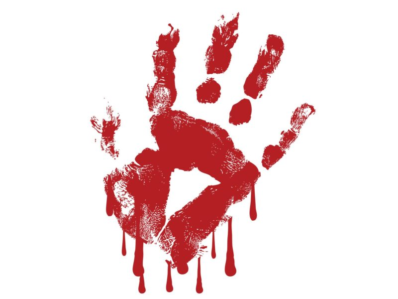 Is blood on your hands?
