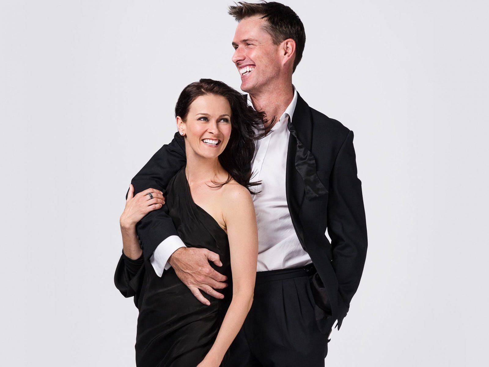 Danielle Barnes and Scott Irwin