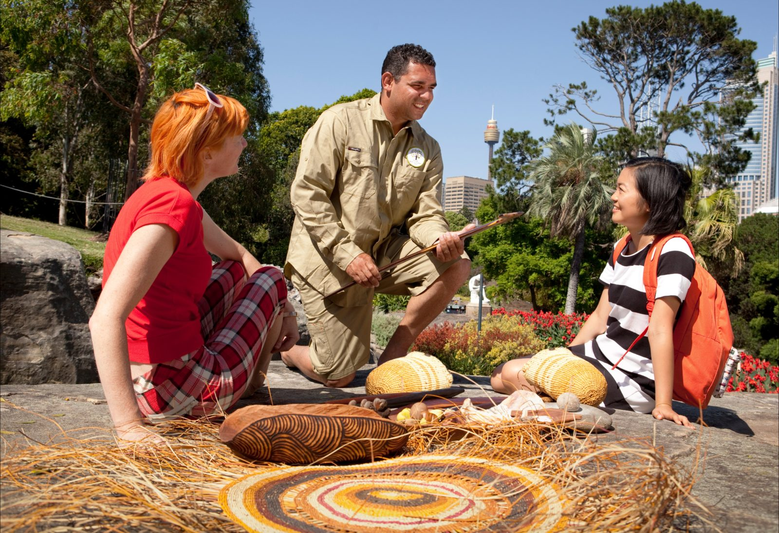 Aboriginal Heritage Tour Royal Botanic Garden Sydney