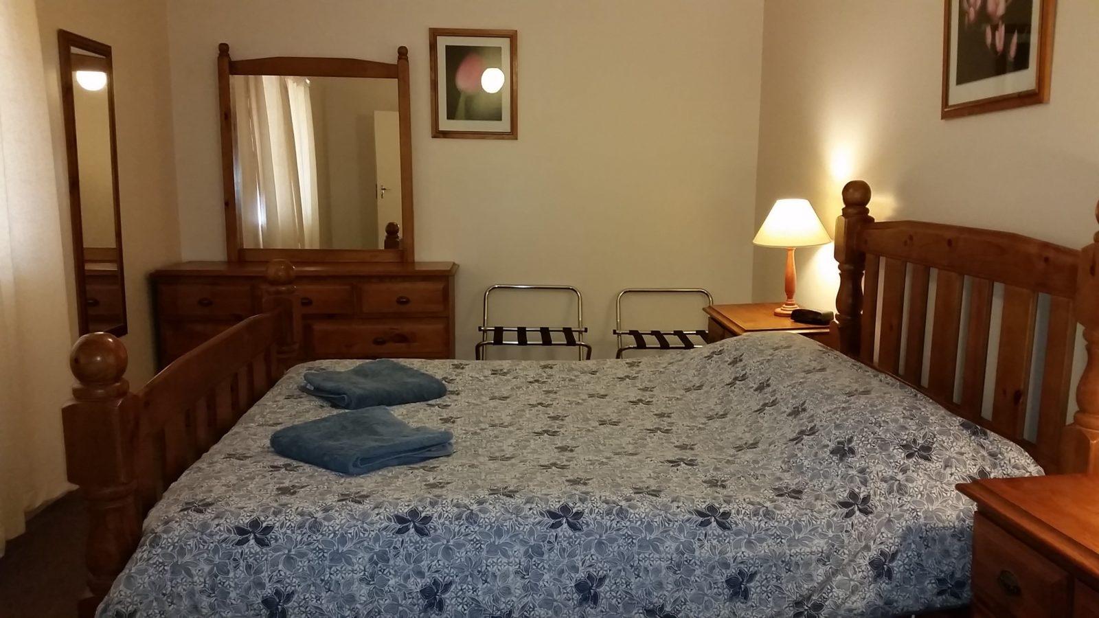 Blue Gum Cottage main bedroom
