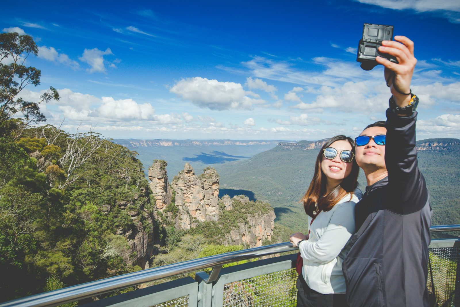 Blue Mountains selfie