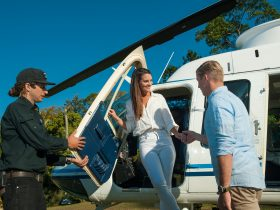 See the beautiful Byron Coast by helicopter