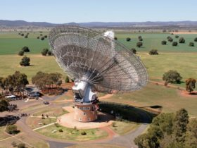 The Parkes Observatory near Alectown