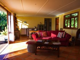 Enjoy the views from the sitting room