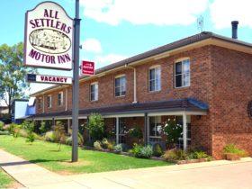 All Settlers Motor Inn Parkes