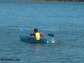 kayaking in smiths lake accommodation