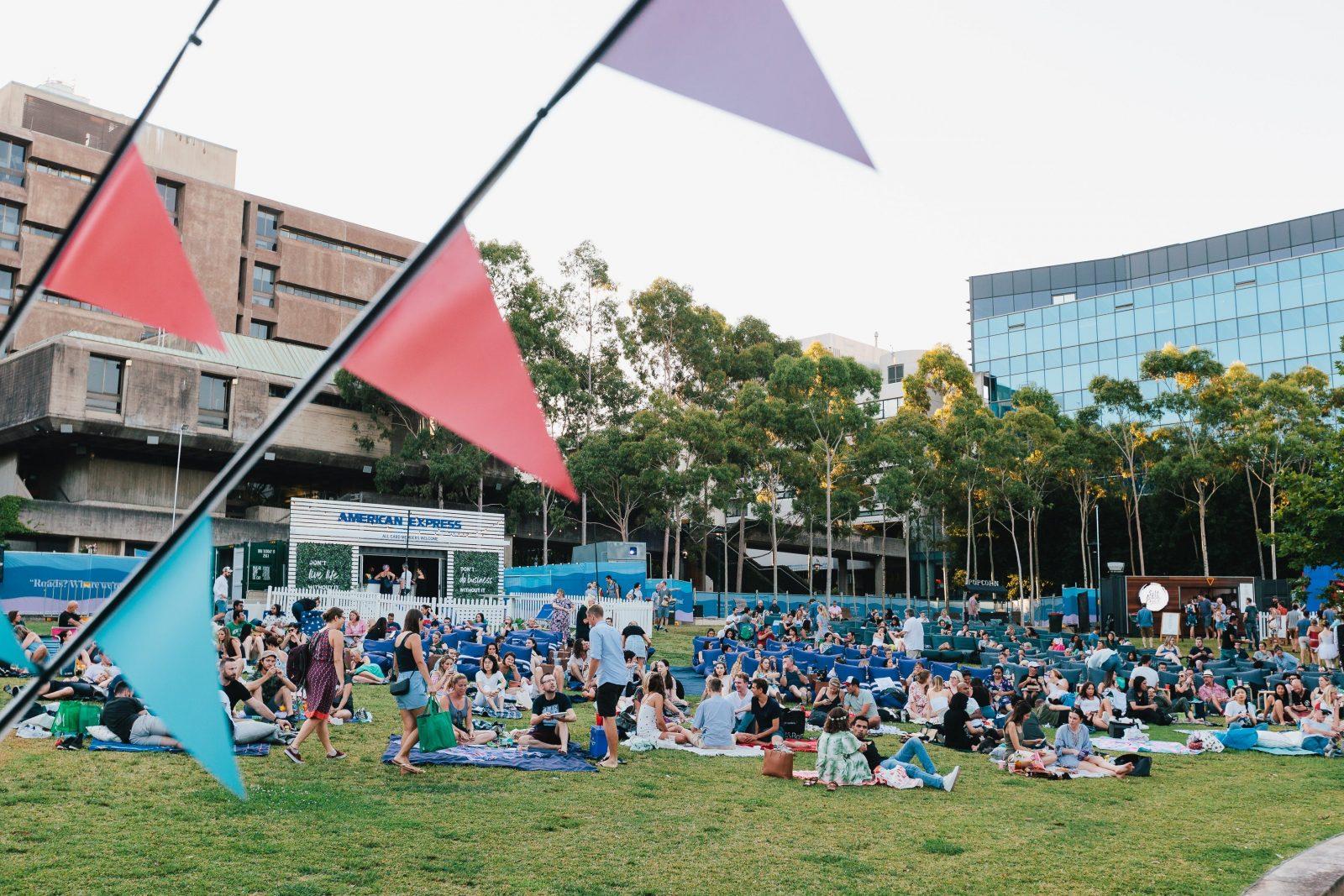 American Express Openair Cinemas Sydney University