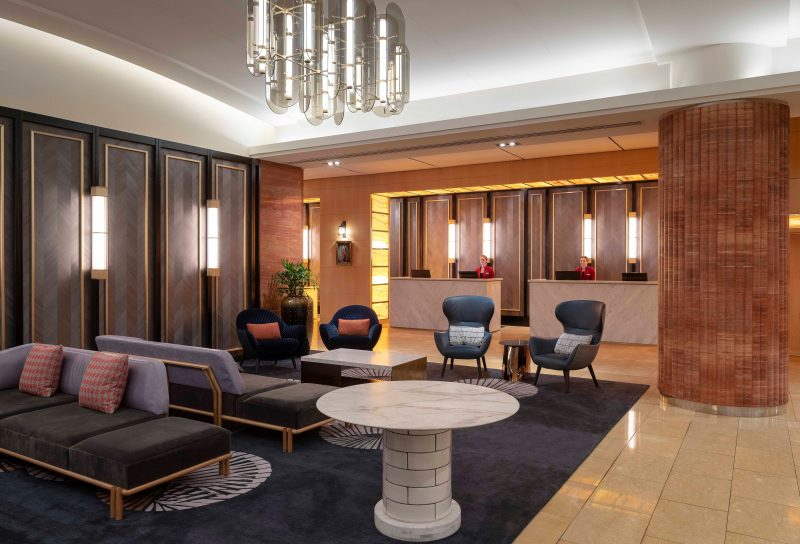 Amora Hotel Jamison Sydney Reception