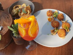 Tapas and cocktails