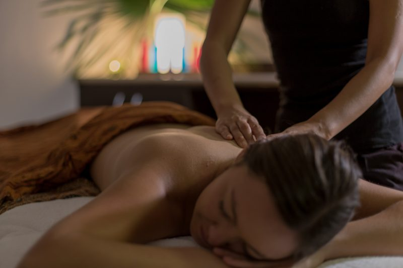 Massage and Treatments at the Day Spa