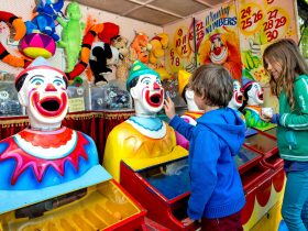 Carnival Alley, an attraction at Kempsey Show in the Macleay Valley