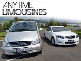 Anytime Limousines Vehicle Fleet
