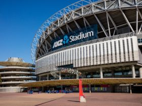 ANZ Stadium located at Sydney Olympic Park