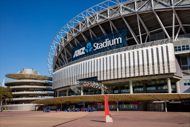 ANZ Stadium located at Sydney Olympic Park