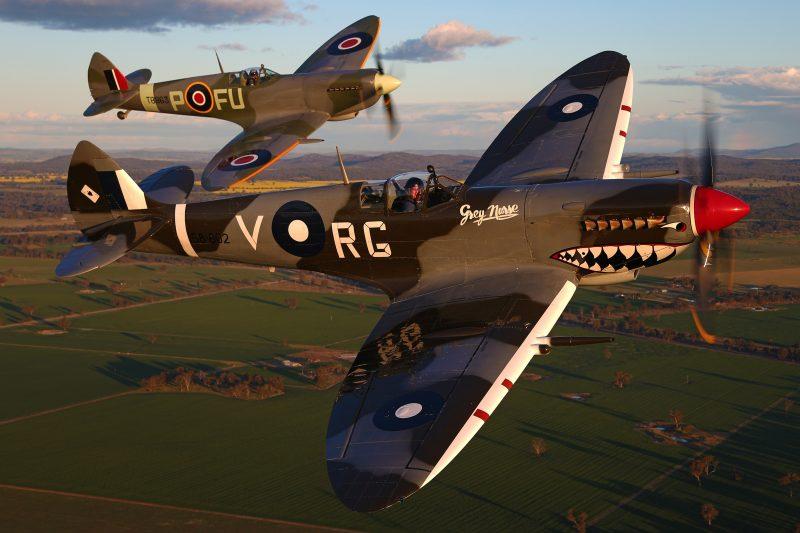 2 spitfires