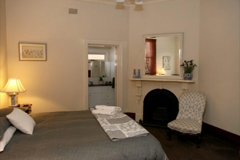 Bedroom One: Queen bed + ensuite.