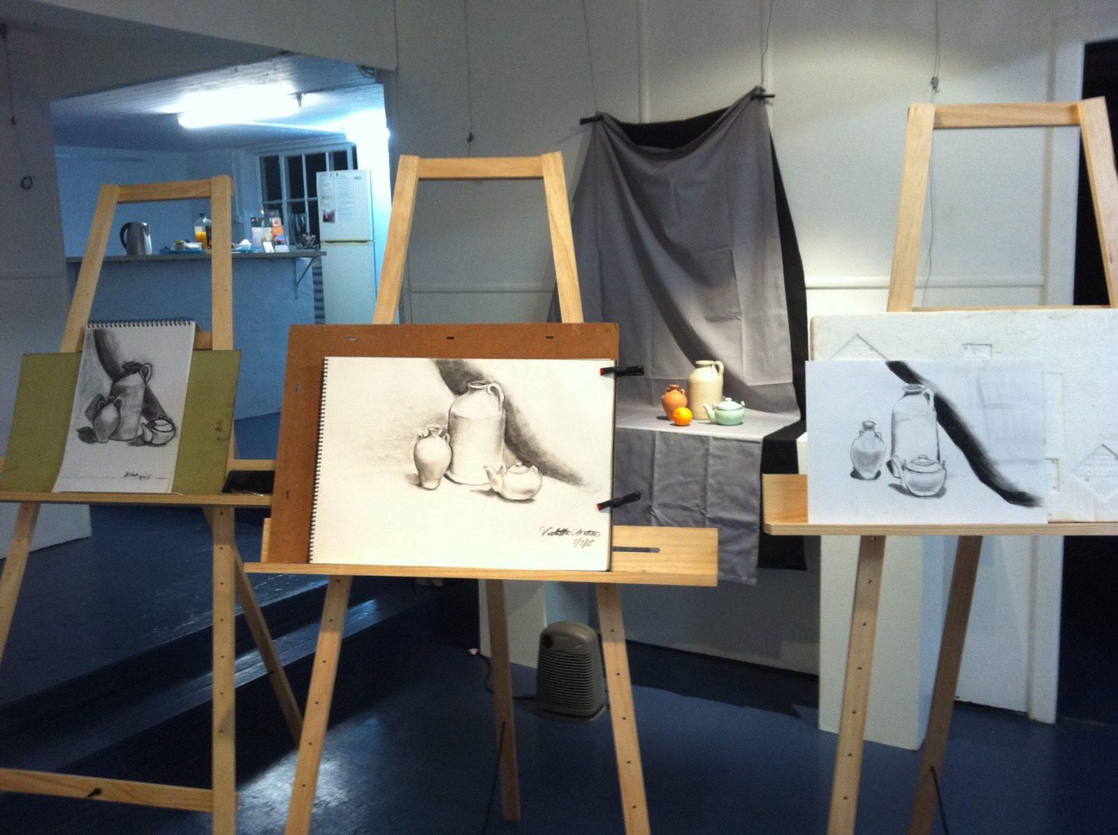 Art Classes with Violetta Strabic