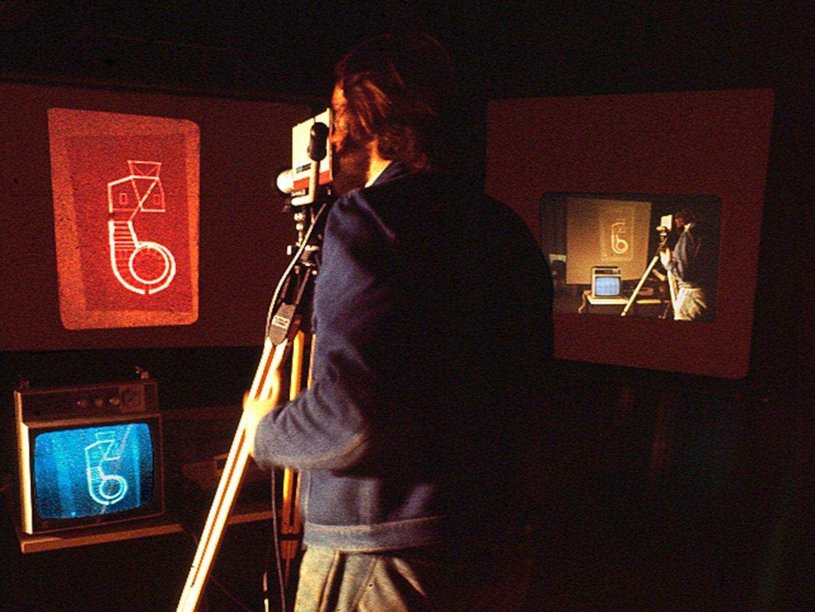 Systems Feedback ,1976. Photo courtesy the artist.