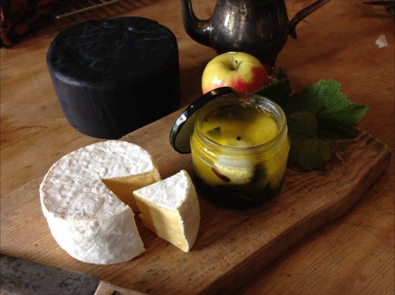 Homemade cheeses