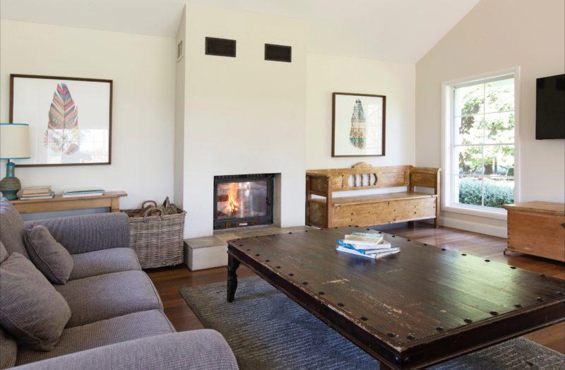 Ashgrove House - Main Lounge by Fire