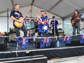 Australia Day at Sydney Fish Market