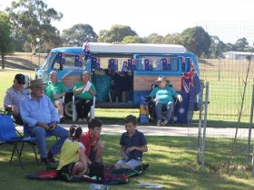 Boorowa Recreation Park on Australia Day
