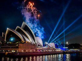 Sydney Opera House Fireworks