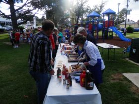 Rotary Barbecue on Australia Day