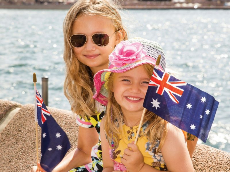 Australia Day Sydney Harbour