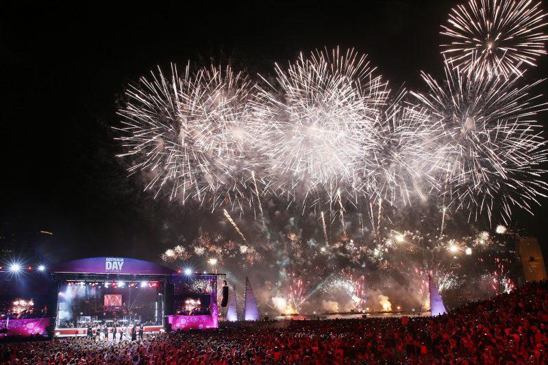 Australia Day fireworks