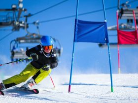 Slalom and Skier Cross Event