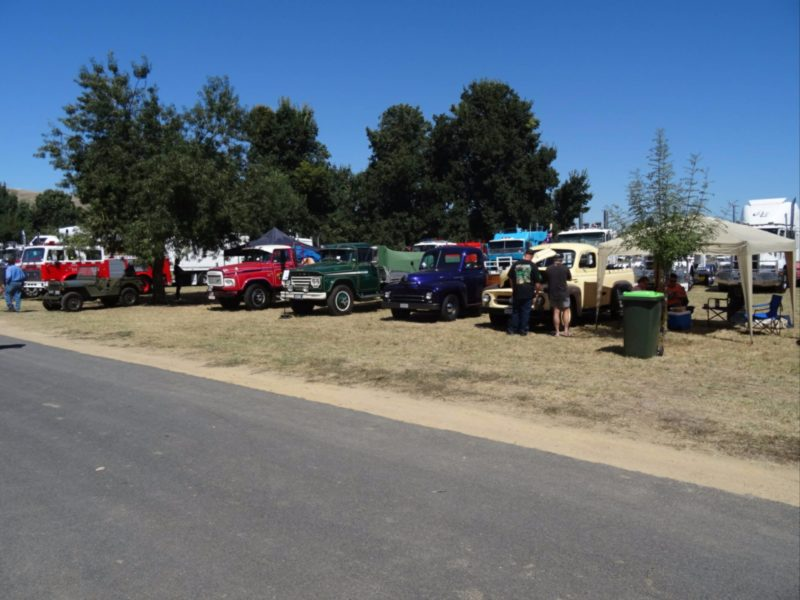 "February 2017 Show and Shine"" at their Tractor Pull and Swap Meet"