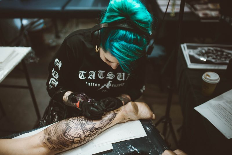 Get a tattoo on the spot!