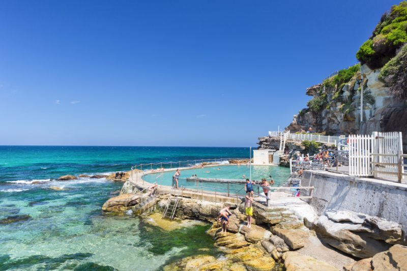 Bronte swimming pool