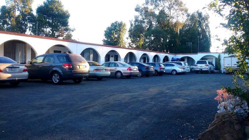 car parking area