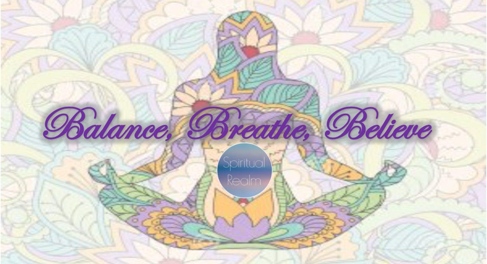 Balance, Breathe, Believe Yoga Workshops