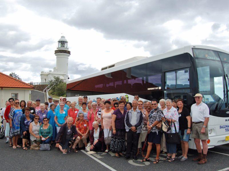 Ballina Byron tour group