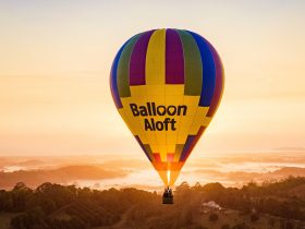 Sunrise Balloon Flight over Byron Bay
