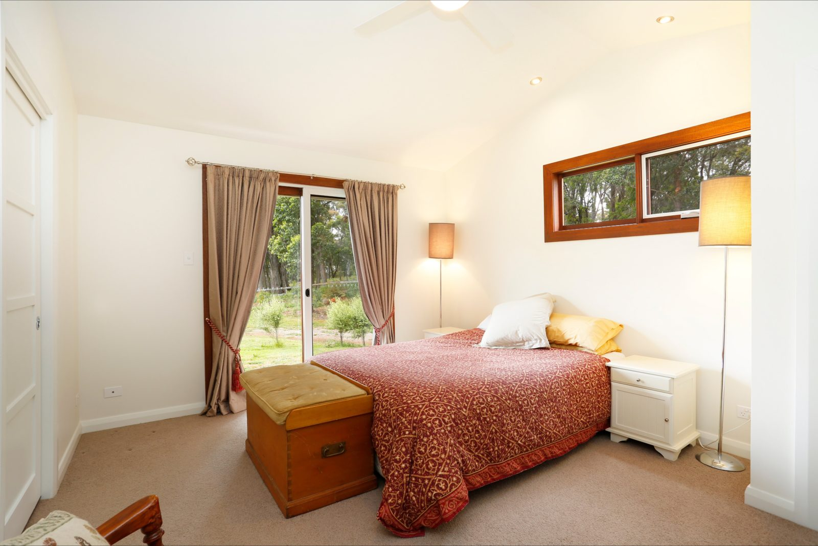 Forest view room with ensuite