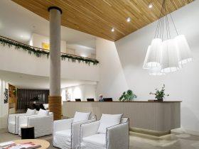 Bannisters Pavilion lobby