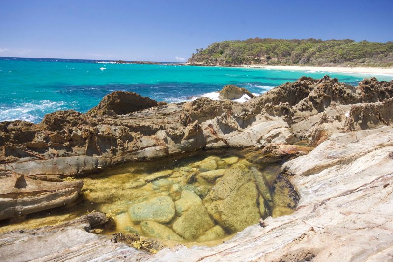 rock pool, Barragga Bay, beach, Sapphire Coast