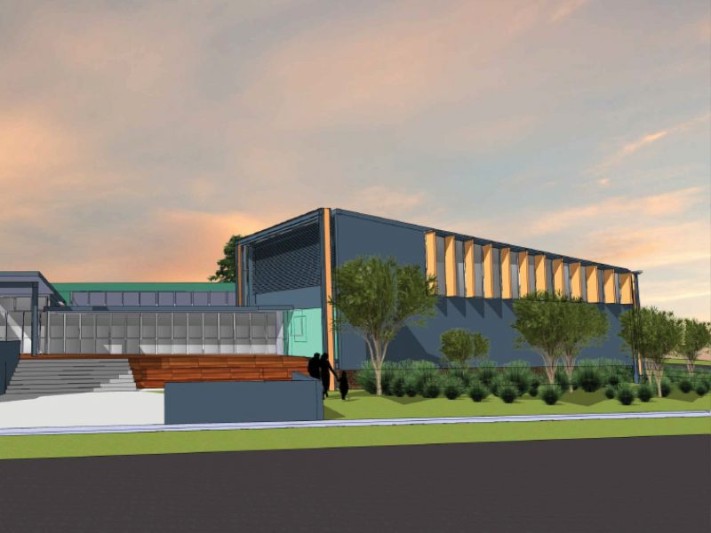 An architect's impression of the new Basil Sellers Exhibition Centre in Moruya