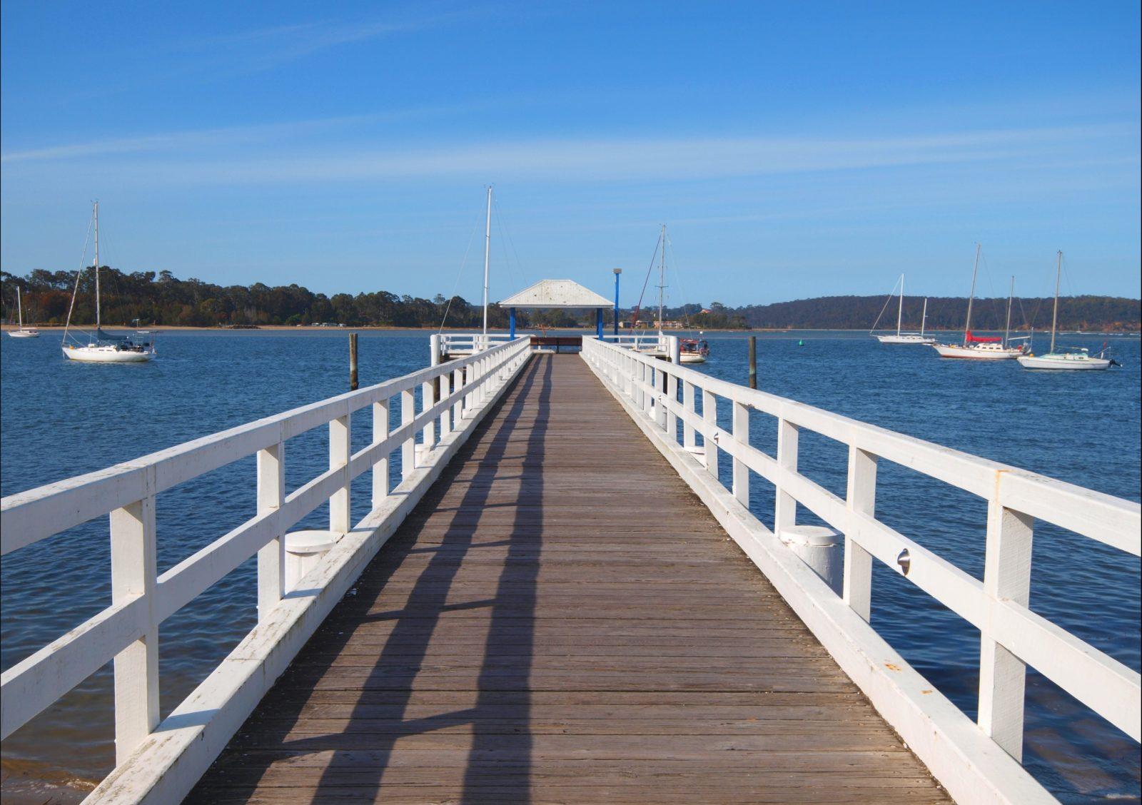 Batemans Bay wharf