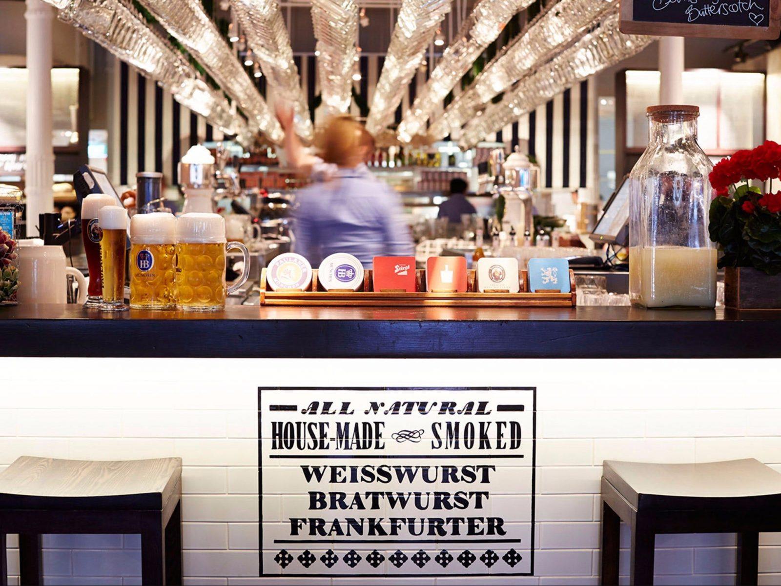 Bavarian Bier Café Entertainment Quarter