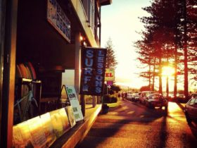 Sunsets at Bay Beach Hire