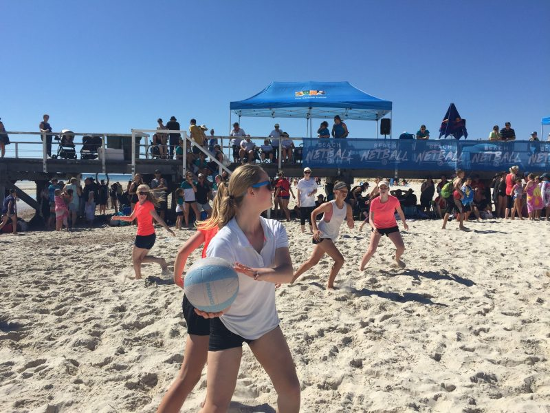 Beach Netball is for everyone