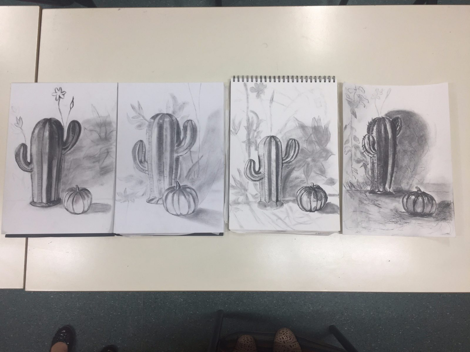 Beginners Charcoal drawing at WEA