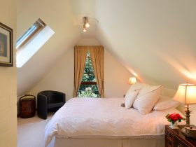 Loft suite bedroom