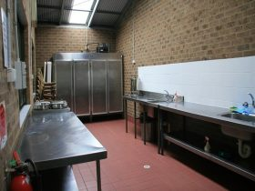 Bents Basin campground kitchen. Photo: Mathew Sharwood OEH