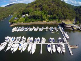 Berowra Waters Marina Highshot